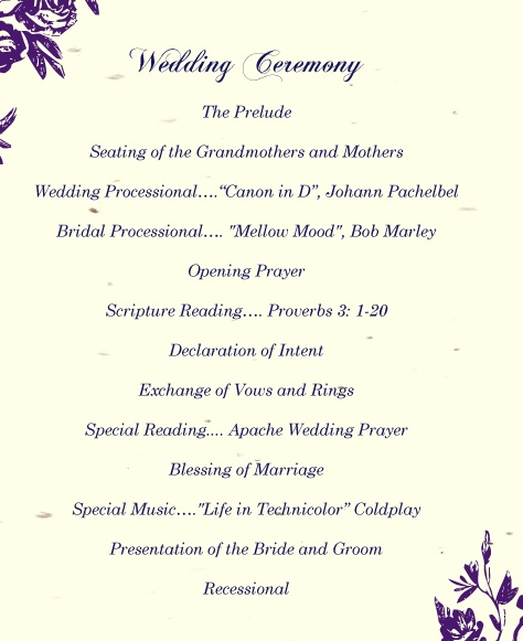 Wedding Ceremony Script Ideas.Fab Weddings Wedding Vows And Ceremony Script